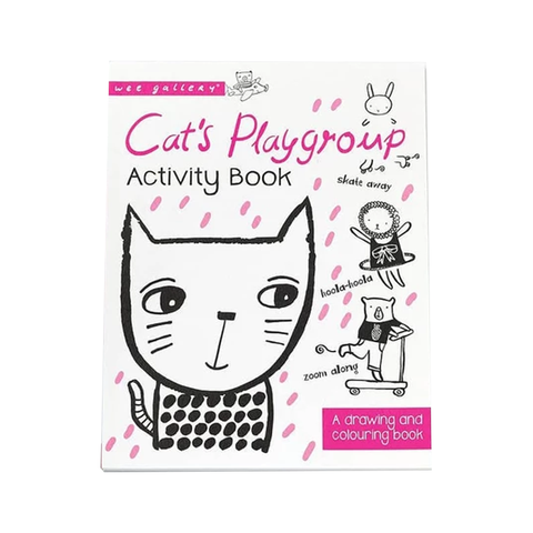 ACTIVITY BOOK // CAT'S PLAYGROUP : A DRAWING AND COLOURING BOOK