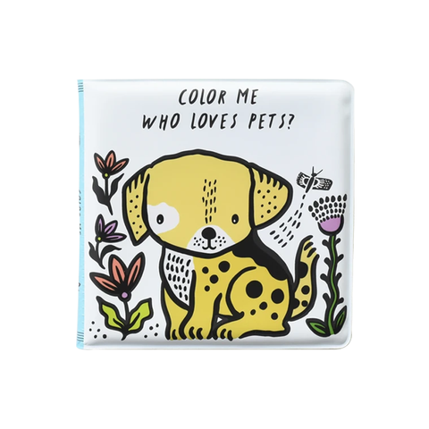 BATH BOOK // COLOUR ME: WHO LOVES PETS?