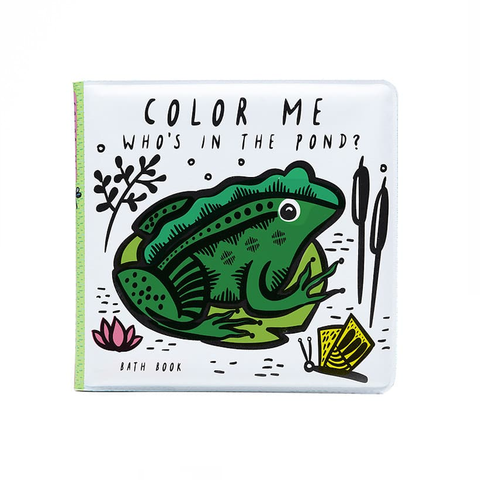 BATH BOOK // COLOUR ME: WHO'S IN THE POND?