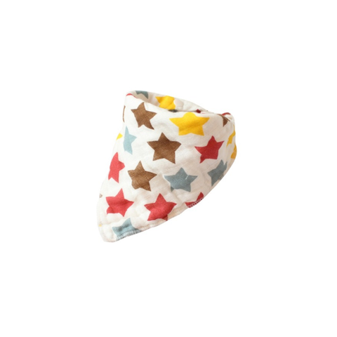 MUSLIN BIB // COLOURFUL STARS