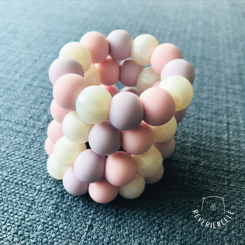 TEETHING RING // COTTON CANDY (MINI)