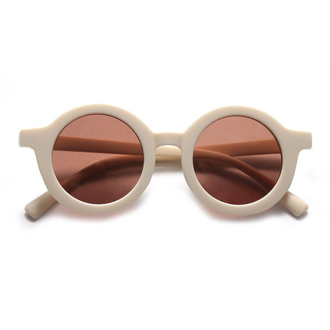 KIDS SUNNIES // ROUND - CREAM