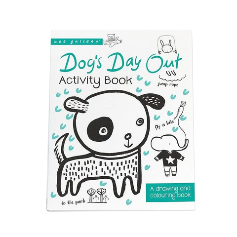 ACTIVITY BOOK // DOG'S DAY OUT : A DRAWING AND COLOURING BOOK