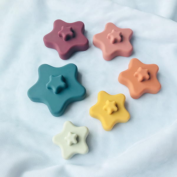 SILICONE STACKER // STAR - FESTIVE