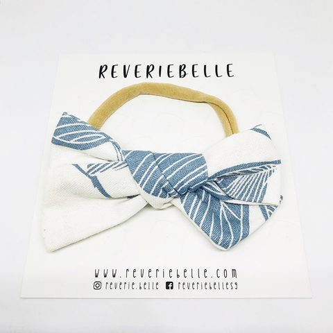 FEUILLES BOW HEADBAND - DAY