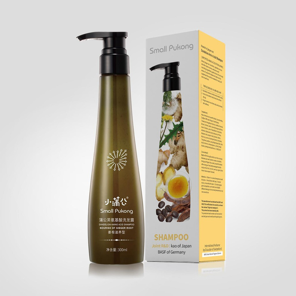SMALL PUKONG BUNDLE 6 // GINGER ROOT SHAMPOO + REVITALISING CONDITIONER