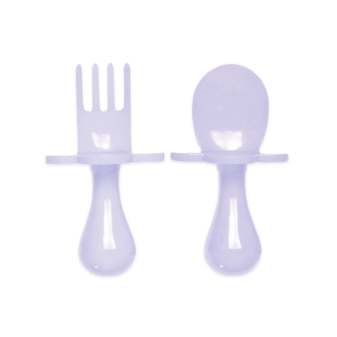 Grabease Spoon and Fork - Lavender