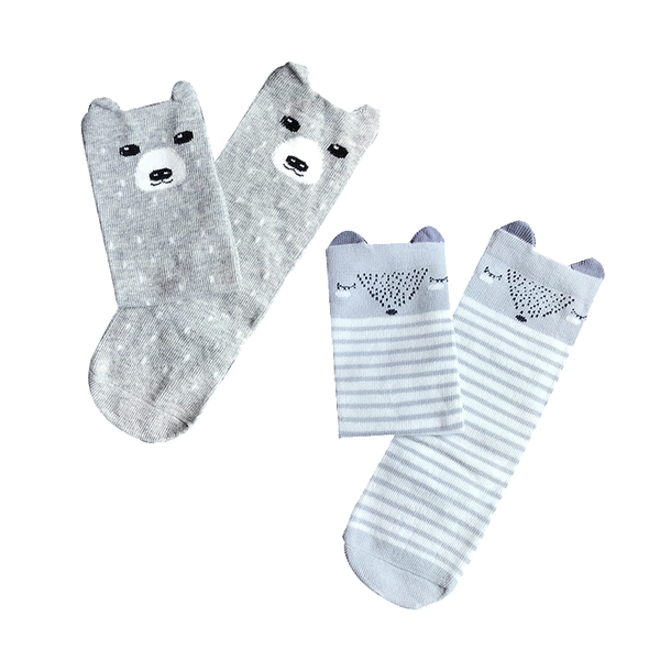 KNEE-LENGTH SOCKS // SET OF 2