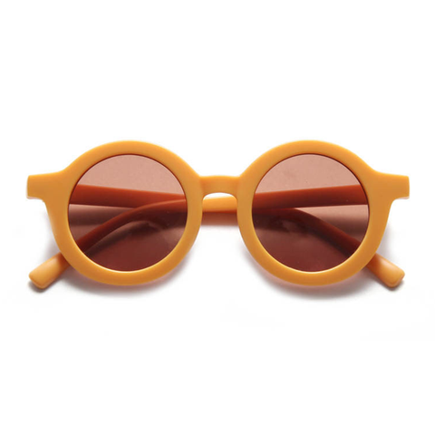 KIDS SUNNIES // ROUND - HONEY
