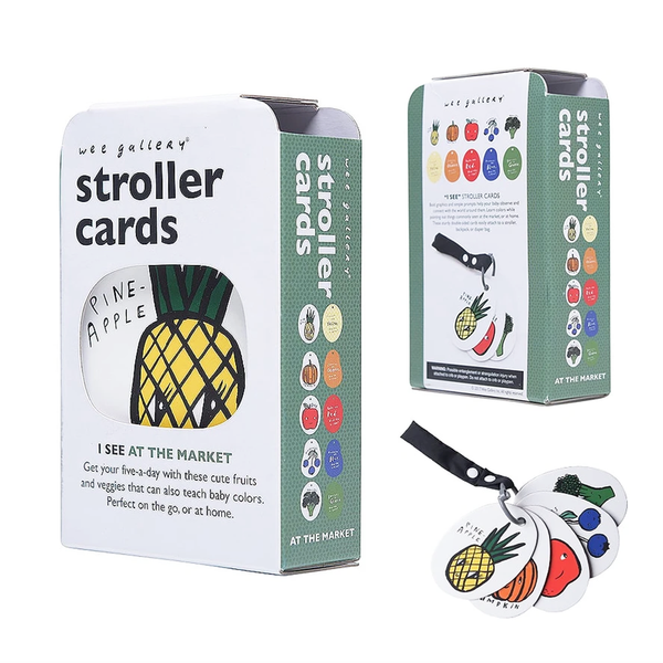 STROLLER CARDS // I SEE IN THE MARKET