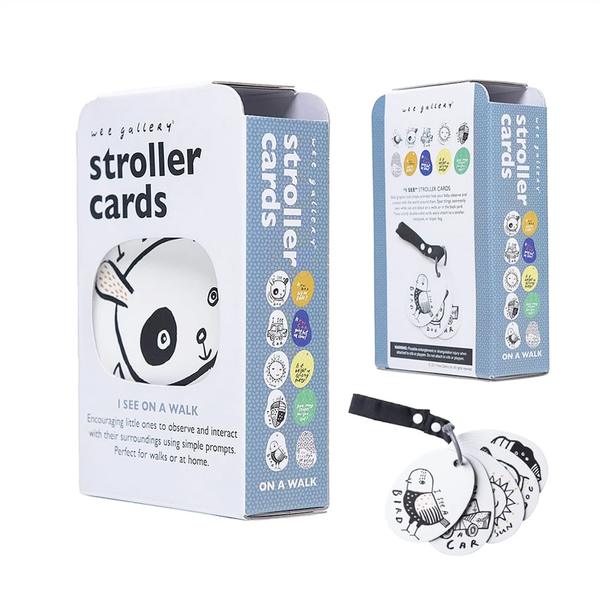 STROLLER CARDS // I SEE ON A WALK