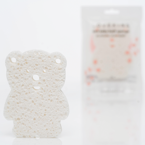 BATH ACCESSORIES // SOFT BABY BEAR SPONGE