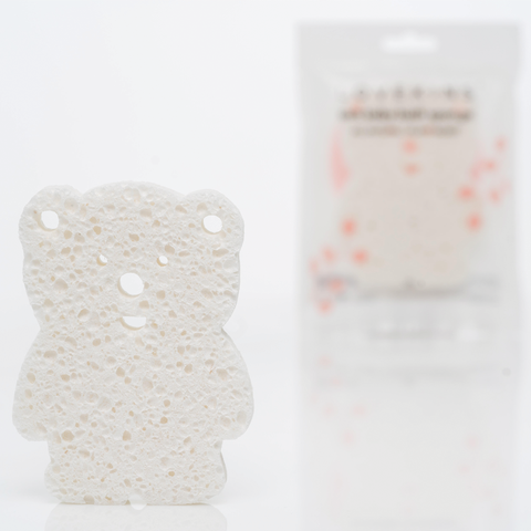 SOFT BABY BEAR BATH SPONGE