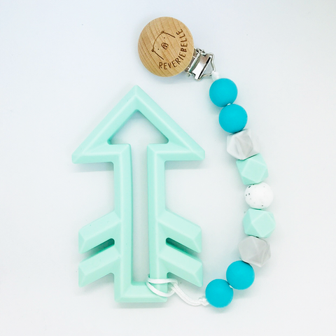 TEETHER SET // ARROW - MINT