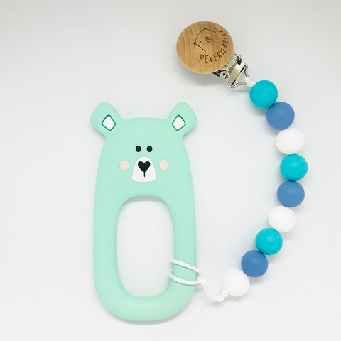 TEETHER SET // BEAR - MINT