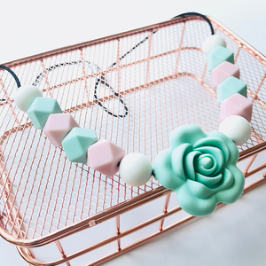 MINTY TEETHING NECKLACE