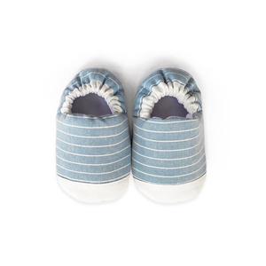 MINI SHOES // MISTY STRIPES (BLUE)