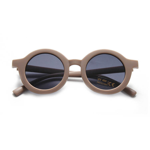 KIDS SUNNIES // ROUND - MOCHA