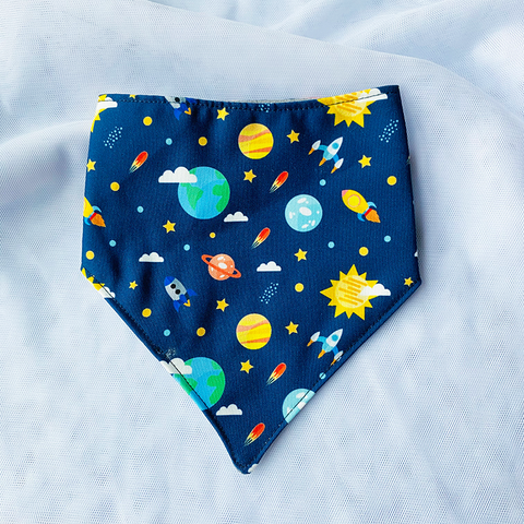 SCARF BIB // OUTERSPACE