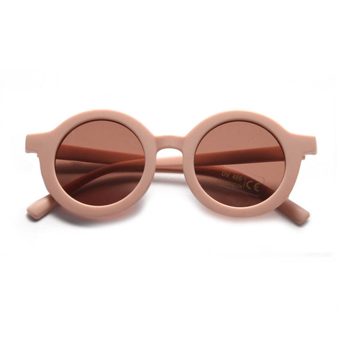 KIDS SUNNIES // ROUND - PEACHY
