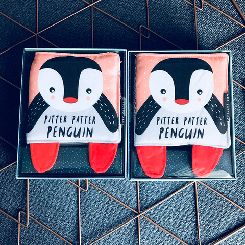 SOFT BOOK - PITTER PATTER PENGUIN