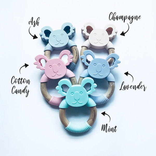 TEETHER // KOALA - COTTON CANDY