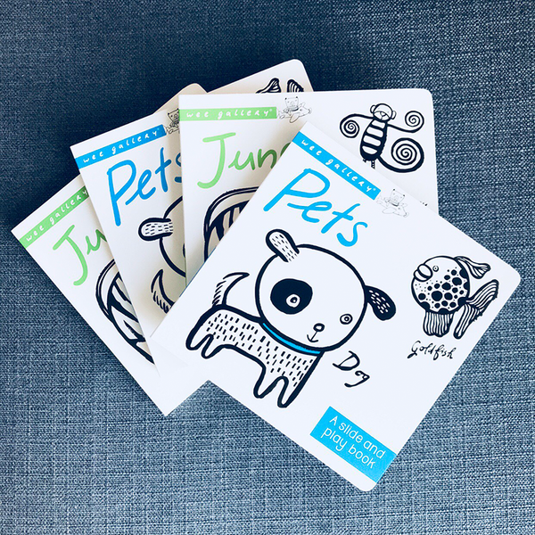 BOARD BOOK // SLIDE AND PLAY (PETS)