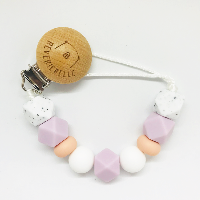 PENGUIN TEETHER SET - LILAC