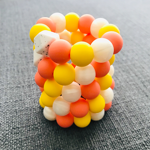 MINI TEETHING RING - SUNSHINE