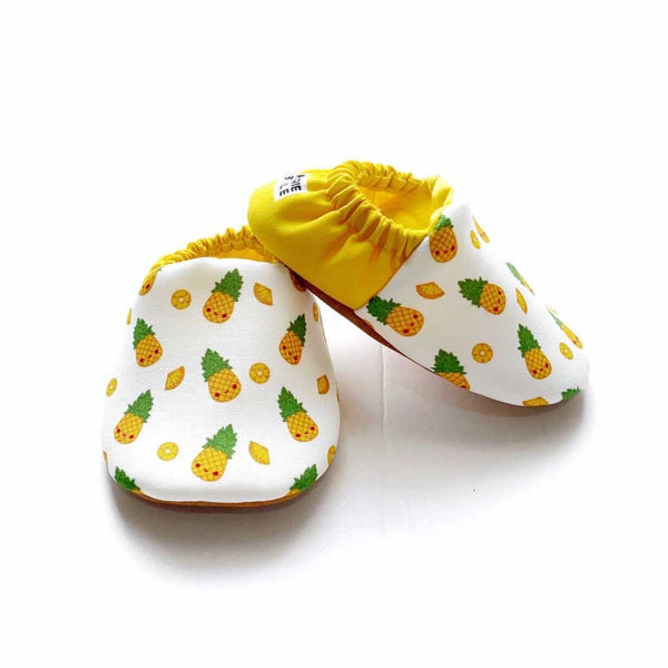 MINI SHOES // PINEAPPLES (REVERIEBELLE EXCLUSIVE)