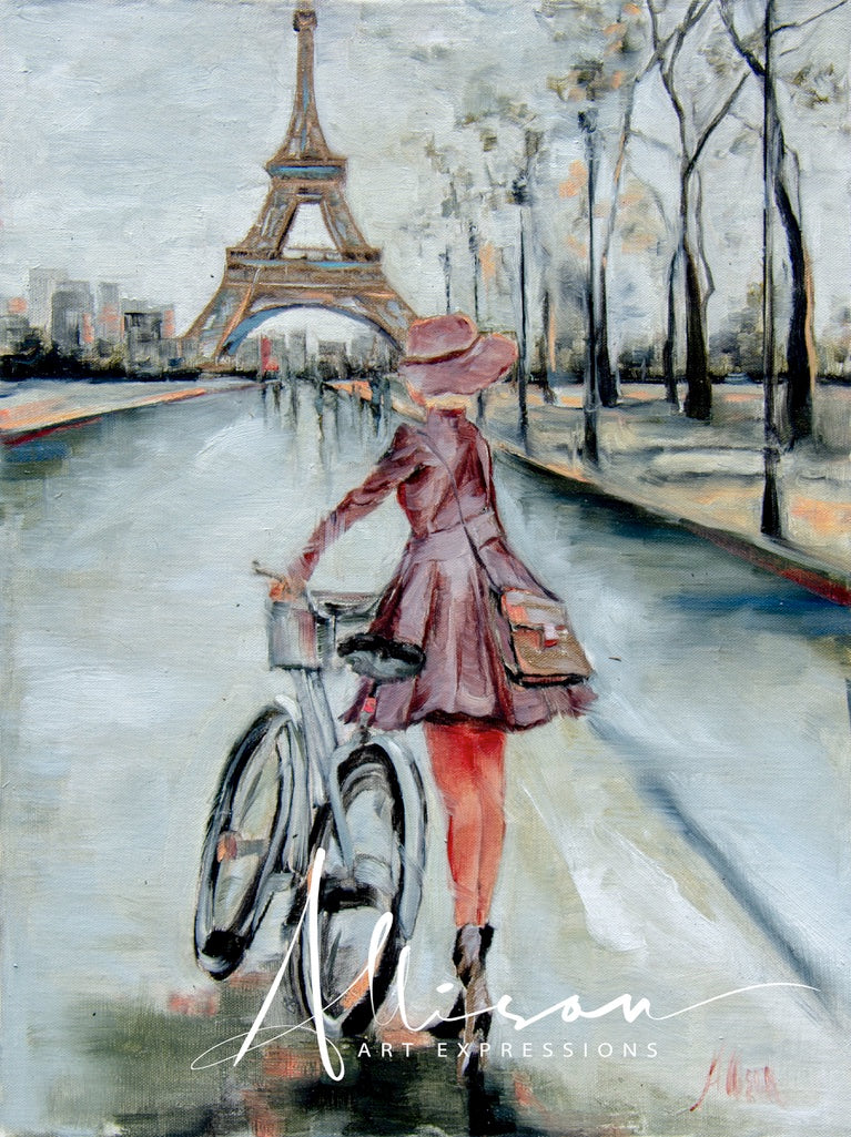 Riding in Paris