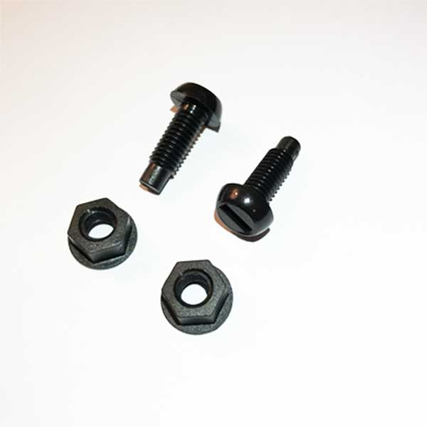 Fixing Kit Black Nuts & bolts