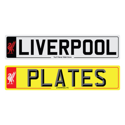Liverpool showroom plates