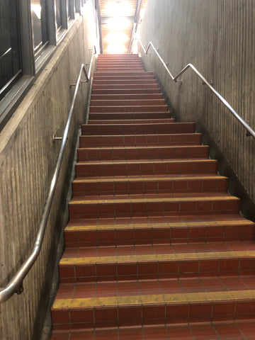 AWBM So. Hayward BART station stairs