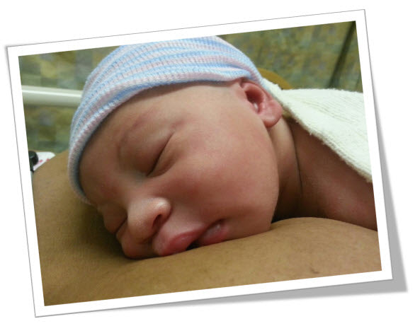 Aiden's first picture