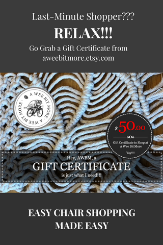 AWBM Gift Certificate Ad Made in Canva Pro