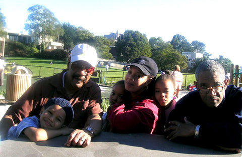 Me, Daddy, Dickie & kids 2005