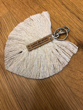 Load image into Gallery viewer, Macramé Feather Key Ring Accessories