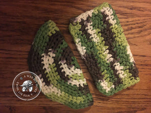 Crochet Dishcloth 100% Cotton