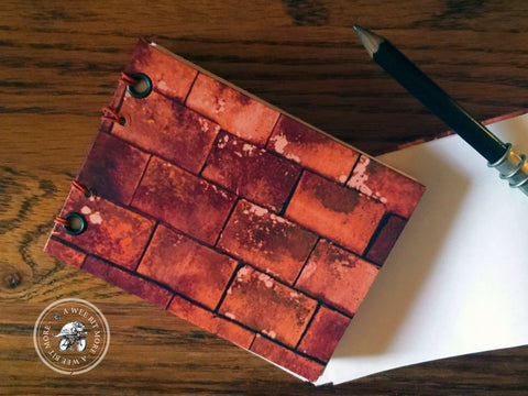 AWBM Whatever Notebook Rusty Shingles