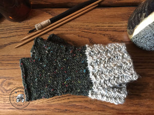 PATTERN Harvest Twist Fingerless Mitts
