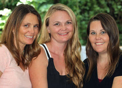 A photo of Herbal Roots founders: Jennifer, Emily and Heather