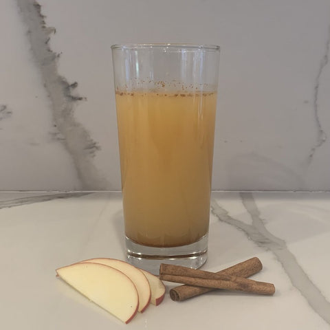Apple with cinnammon and ACV