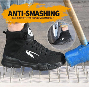 INDESTRUCTIBLE SAFETY BOOTS