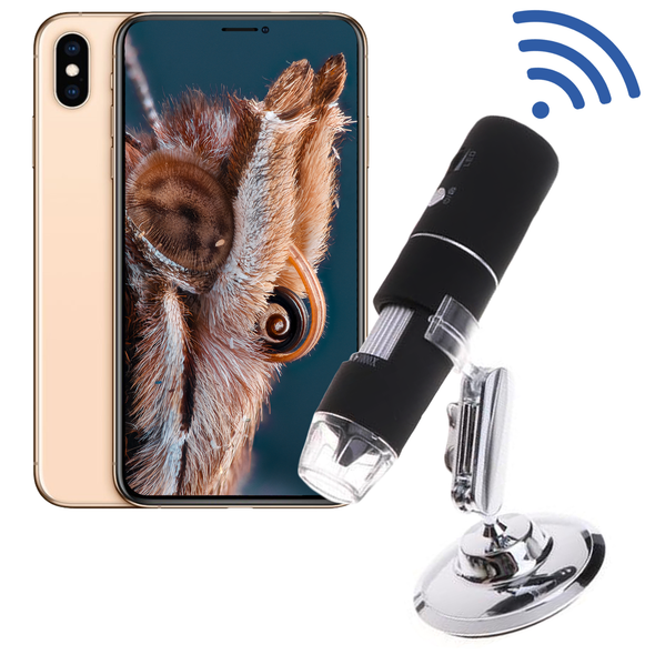 Wireless 1080p Microscope Camera  (iPhone & Android)