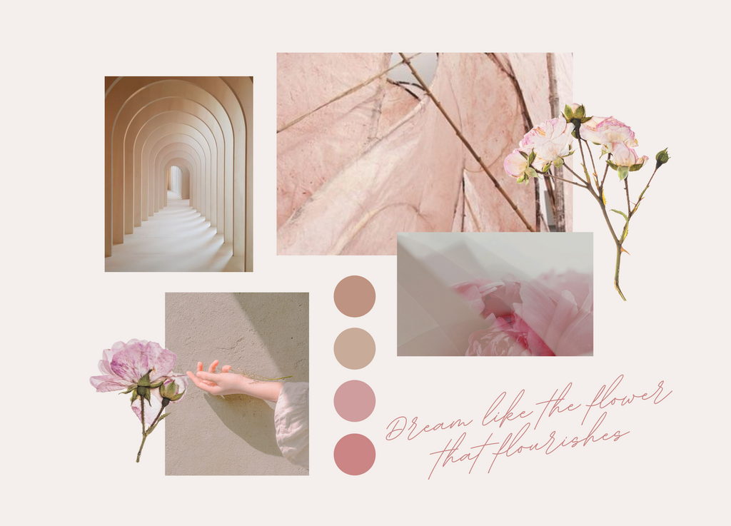 Dreamer Curated Collection Mood board
