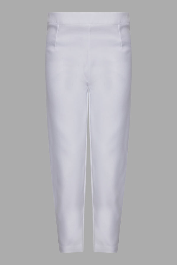 White Cigarette Trouser