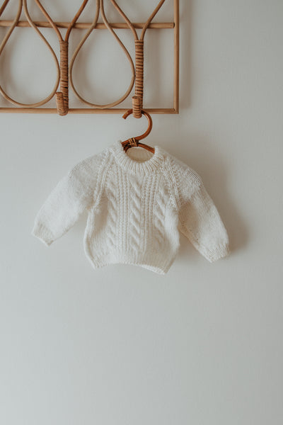 Fisherman's knit 3-6mths