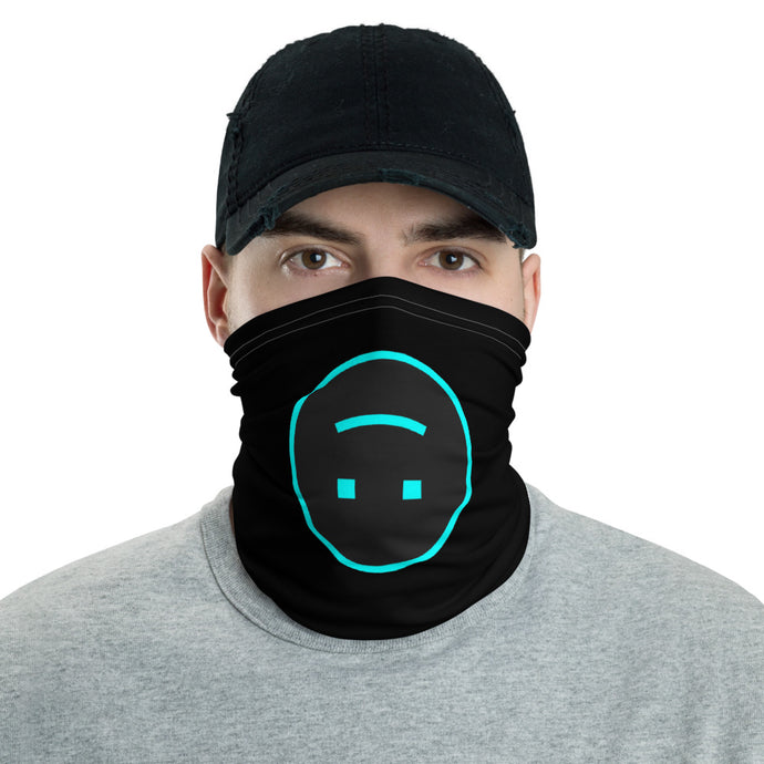 WTF SMILEY LOGO - FACEMASK DESIGNED BY AYZ