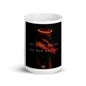 """THE GUNFIGHTER + THE WAR DOCTOR"" - COVER ART COFFEE MUG"